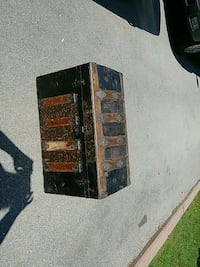 black and brown wooden chest box old Brampton, L6S 2R8