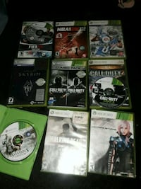 Xbox games all for 45 will sell seperate Aurora, 80012