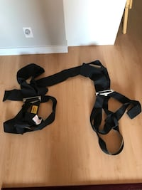 Shoulder dolly Movers straps