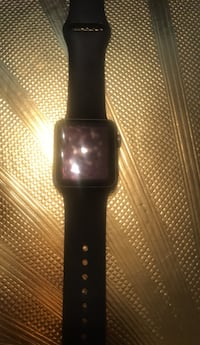 black Apple watch with black sports band District Heights, 20747