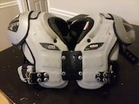 gray and black shoulder pads Chattanooga