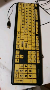 Easy to see keyboard