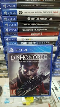 Dishonered Death Of The Outsider Ps4 8410 km