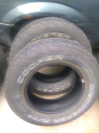 235/75R17 - PAIR of COOPER Discoverer AT³ tires. Robbinsdale, 55422