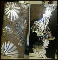 *** one of a kind MIRROR MOSAIC art by ME*** Edmonton, T5P 1X9