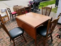 DROP LEAF TABLE AND CHAIRS  Decatur, 62521
