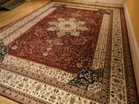 Large 7x10 brand new silk rug 23 mi