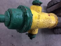 yellow and green fire hydrant Kitchener, N2E 1L8