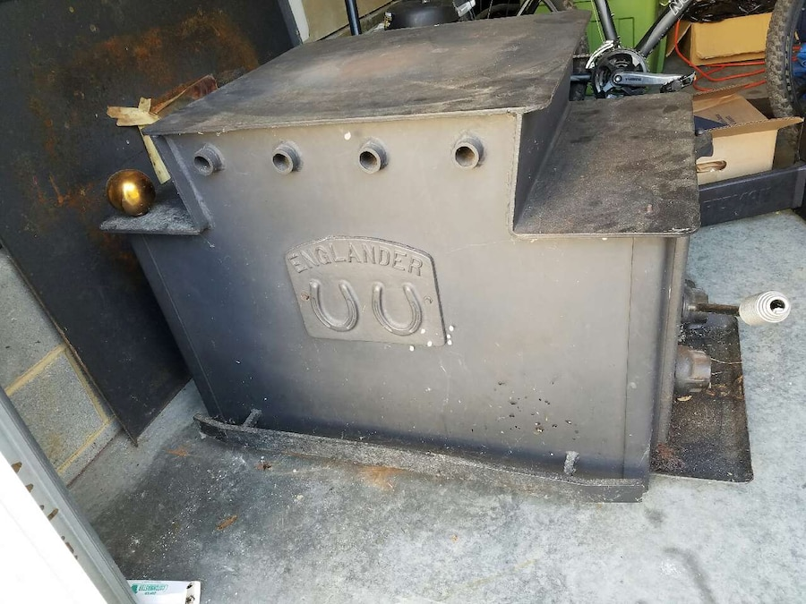 - Englander Wood Stove, Side Load In Richmond - Letgo