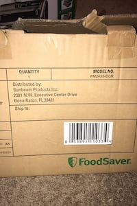 Brand new FoodSaver FM2435-ECR Pleasant Valley, 12569