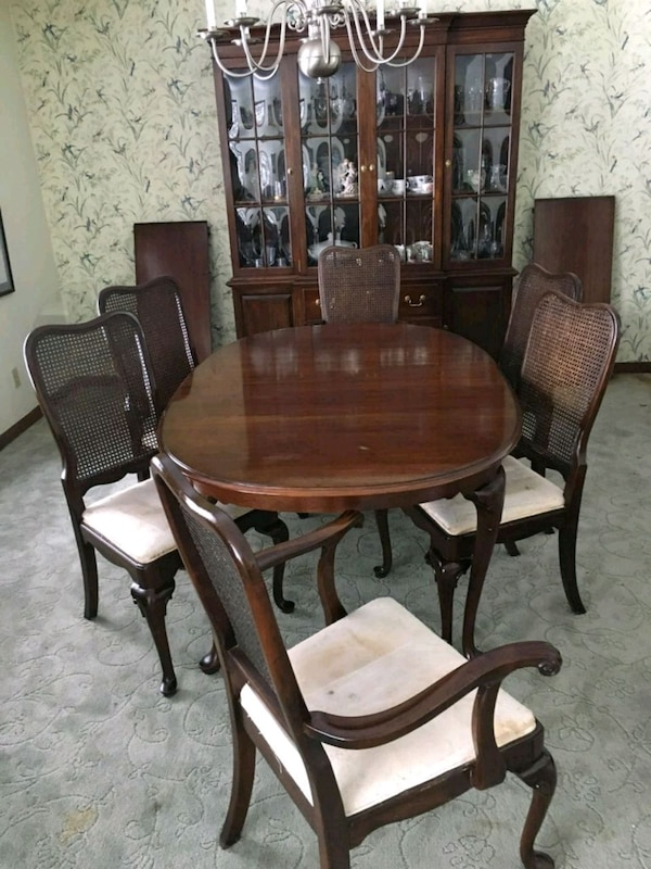 Astounding Ethan Allen Dining Table Chairs China Cabinet Unemploymentrelief Wooden Chair Designs For Living Room Unemploymentrelieforg