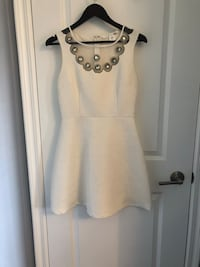 White dress from Honey Toronto, M9W 4L6