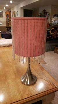 brown and white table lamp Gaithersburg, 20882
