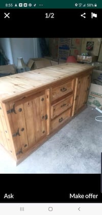 Farmhouse Buffet or  Dresser