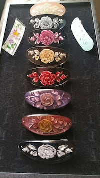 FASHIONABLE, FLORAL AND BEAUTIFUL HAIR CLIPS Pearl City, 96782