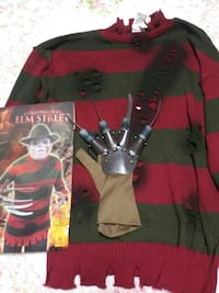 Nightmare on Elm Street sweater and glove  Warwick, 02889