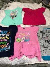 Girls shirts (set of 5 for 4.00 total) Kentwood, 49508