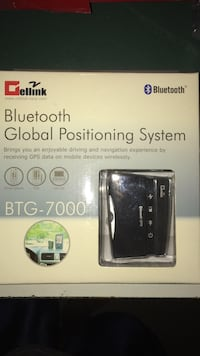 Bluetooth GPS device