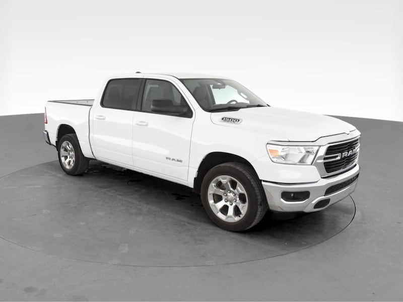 2019 Ram 1500 Crew Cab pickup Big Horn Pickup 4D 5 1/2 ft White 14