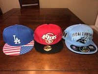 All 3 for only $15new unworn 59fifty hats -lot Thames Centre, N0L