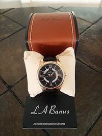 La Banus Men's Rose Gold Case Date View Watch Toronto