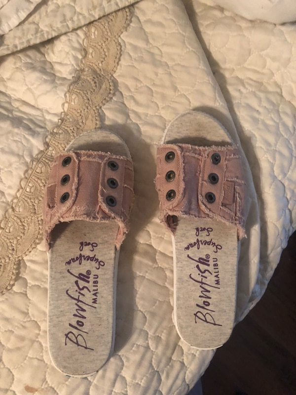 995a87c0a3f8 Used Size 10 women blowfish slide sandals for sale in Lubbock - letgo