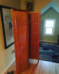 Wooden Room Divider, Screen, Dressing Screen, Decor, Vintage, Room, Bathroom, Classic, Clothes, Furniture, Design, interior, Style, 3 Panel Robbinsdale, 55422