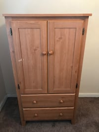 Tall Dresser with Multiple Shelves & Drawers