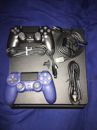 black Sony PS4 with two DualShock 4's Silver Spring, 20903