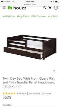 Twin trundle bed HYATTSVILLE
