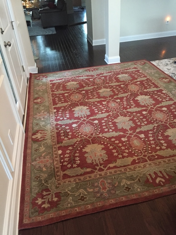 Pottery Barn 8x10 Franklin Wool Area Rug