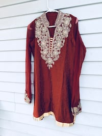 Pajami suit with net dupatta  Surrey, V3R 8H6