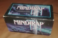 MindTrap (1991) BOARD CARD GAME DECENT CONDITION