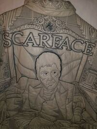 25th Anniversary scarface leather jacket  size 54
