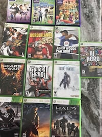 10 Xbox 360 games Ashburn, 20147