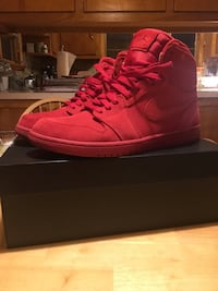 Jordan 1 Red Suede New Lebanon, 45345
