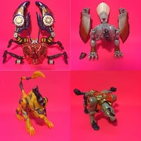 BEAST WARS Transformers Transmetals Action Figure lot! Port Perry