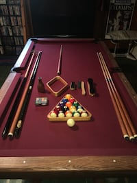 REDUCED AGAIN - Slate Pool Table - Reasonable offers will be considered. Buffalo, 14225