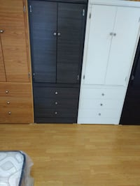 brown and white wooden cabinet Long Beach, 90805