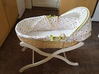 Moses basket and stand Dudley, DY2 0BQ