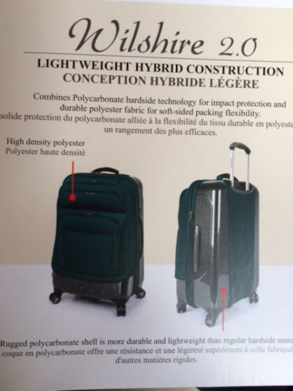 """Luggage $250 Expandable Checked Ricardo Beverly Hills Wilshire 28"""" new fffee54b-bccd-4250-9632-84ed2142d1e6"""