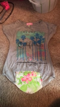 gray, blue, and green floral onesie Winchester, 22602