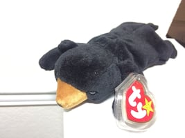Blackie the bear ty beanie baby