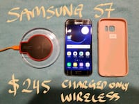 Samsung S7 UNLOCKED MintCond-CHARGE ONLY WIRELESS