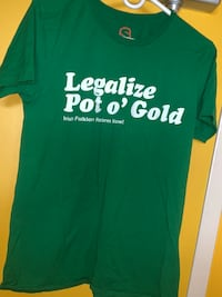 LEGALIZE POT GREEN T-SHIRT Toronto, M6P 2T3