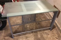Tv stand with glass. It's dirty but I'm great condition. Lockeford, 95237