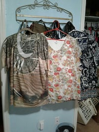3 Womens Shirts.           (5) Killeen, 76541