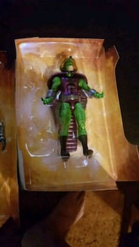 man in green and purple costume action figure pack San Diego, 92115
