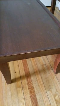 Brown coffee table set up for sale. Middletown, 10940