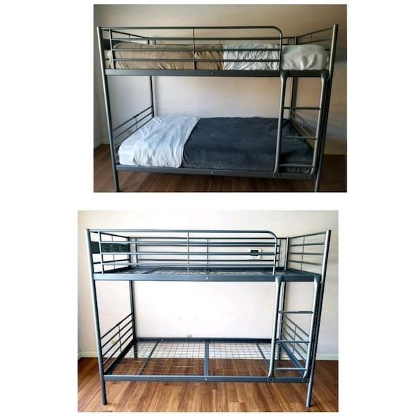 Used Bunk Beds W Bedding Or Only Frames For Sale In San Jose Letgo